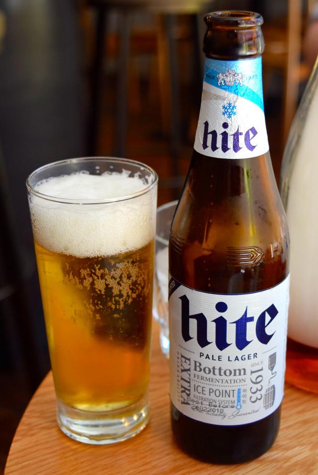 Hite Beer at Bo Drake, Soho | www.rachelphipps.com @rachelphipps