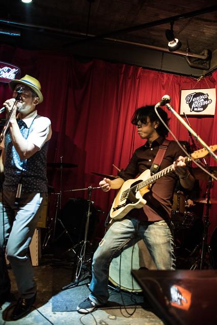 the AstroBluenauts live at Terraplane, Tokyo, 28 Jul 2017 -00390