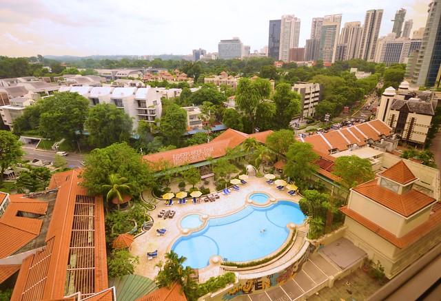 hotel jen tanglin singapore swimming pool