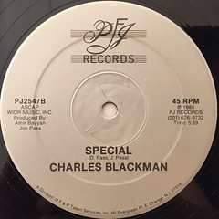 CHARLES BLACKMAN:SPECIAL(LABEL SIDE-B)