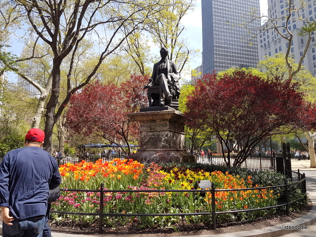Madison Square Park flowers