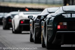 Jaguar XJ220 25th Anniversary Parade Silverstone Classic 2017 Sportscar Racing News