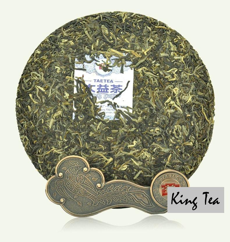 Free Shipping 2013 DaYi TAE Early Spring Arbor Cake 357g China YunNan MengHai Chinese Puer Puerh Raw Tea Sheng Cha Premium