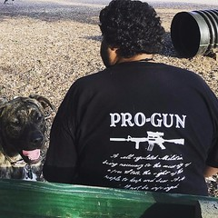 Customer Photo: Pro-Gun Second Amendment T-Shirt.