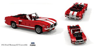 Ford Mustang GT Convertible - 1965