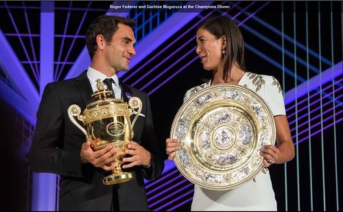Federer and Muguruza