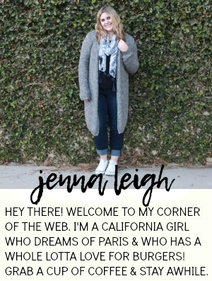 jenna leigh xo about me page-)