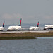 Delta Planes Holding on Lima by photo101