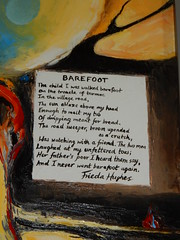 Barefoot, Frieda Hughes, Alternative Values Exhibition, Chichester Cathedral (3)