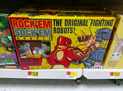 Classic Rock'Em Sock'Em Robots (at the Bartlett Walmart)