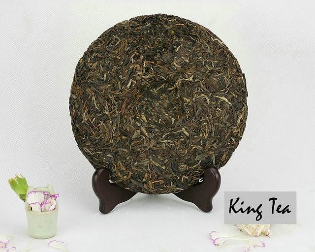 Free Shipping 2013 LaoMan'E ZhiPin Cake 400g China YunNan MengHai Chinese Puer Puerh Raw Tea Sheng Cha Premium Slim