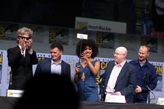 Peter Capaldi, Steven Moffat, Pearl Mackie, Matt Lucas & Mark Gatiss