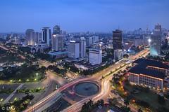 Jakarta's cityscape