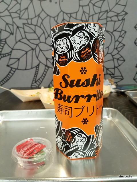 sushi burrito at Mi'hito Sushi