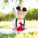 Mickey Mouse birthday | Boston baby photographer