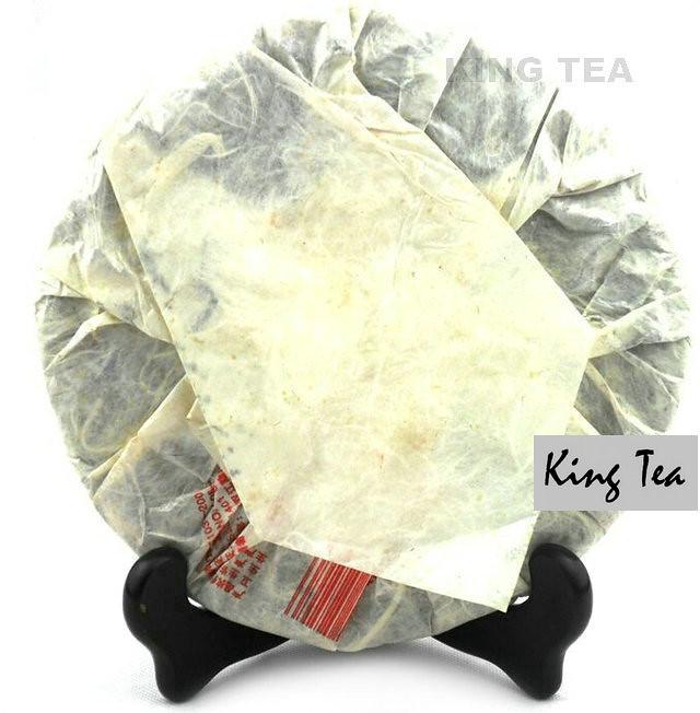 Free Shipping 2006 ShuangJiang MengKu GuHuaCha Cake 400g China YunNan MengHai Chinese Puer Puerh Raw Tea Sheng Cha