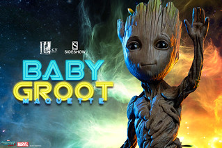 Sideshow Collectibles【星際異攻隊2:小格魯特】Baby Groot Maquette 1:1 比例全身雕像作品