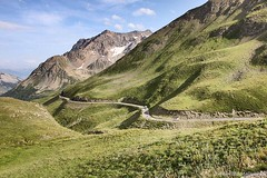 The Road Meanders Through The Mountains