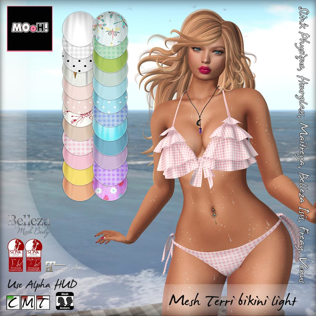 Terri bikini light - SecondLifeHub.com