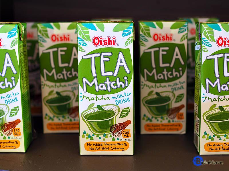 Oishi tea matchi