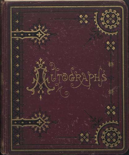 Ida Thompson Autograph Book