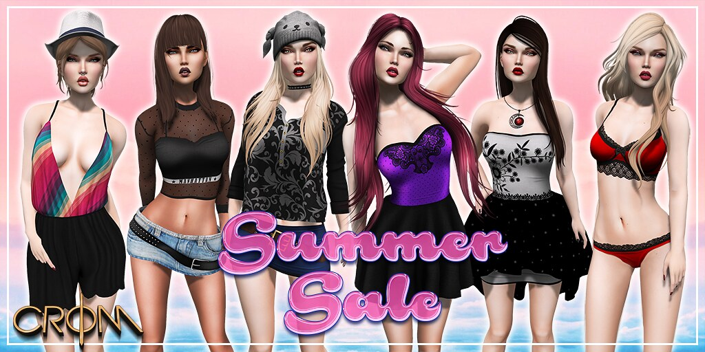 -CroM- Summer Sale - Last 72 HOURS - SecondLifeHub.com