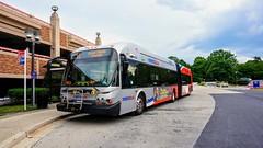 WMATA Metrobus 2009 New Flyer DE60LFA #5439