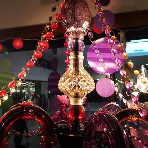 surreal chandelier bong closeup lubbocktexas southplainsmall