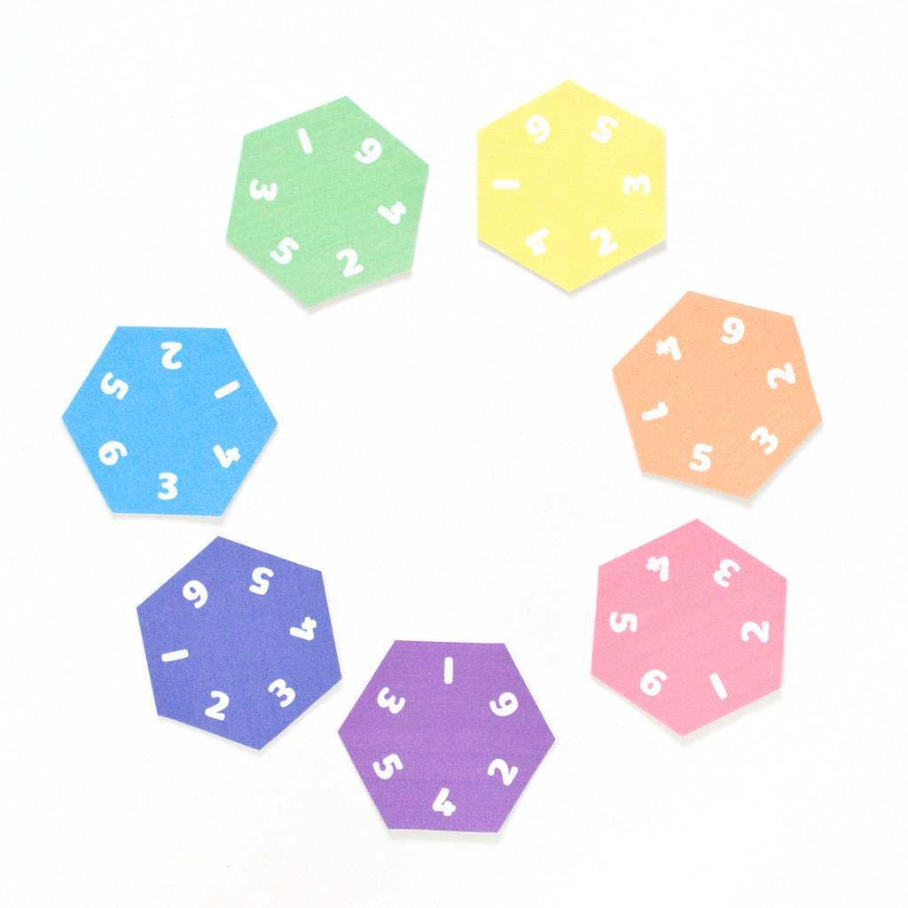 Printable Hexagon Puzzle