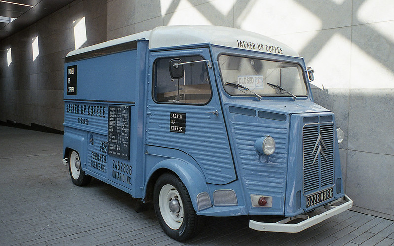 Blue Coffee Truck