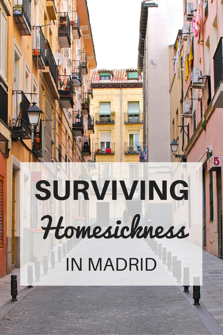Surviving Homesickness in Madrid