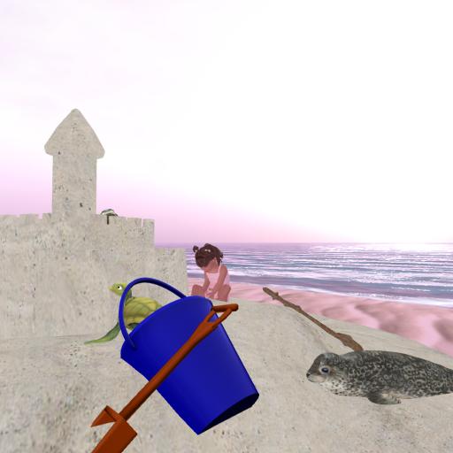 Sand castle building funz