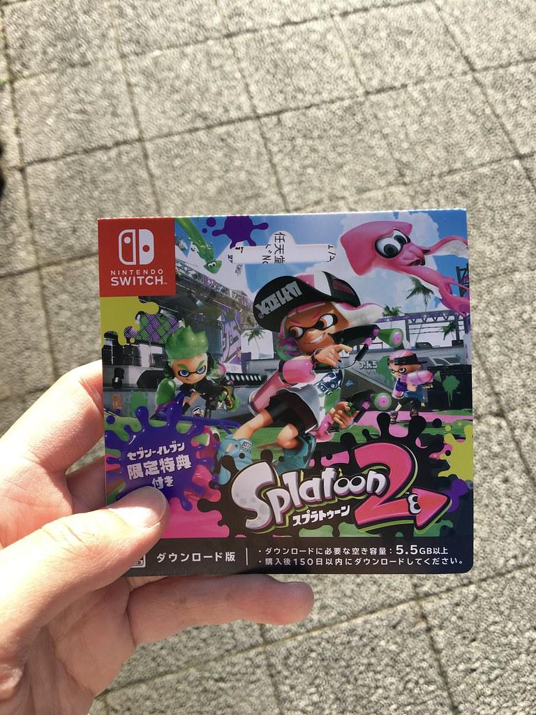 Splatoon 2, DL card