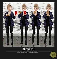 :North Moon: Burger Me- MP L$10 PROMO