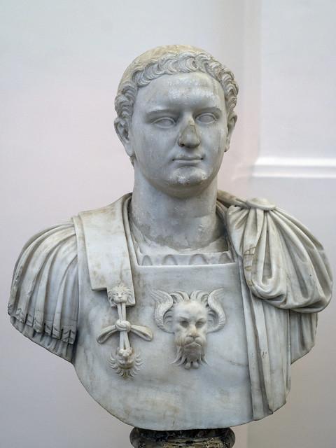 Portrait of the Roman emperor Domitian, 1