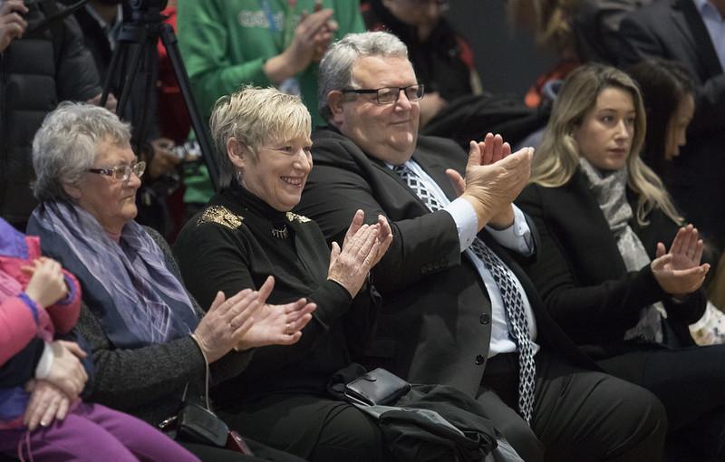 Mayor Lianne Dalziel and Hon Gerry Brownlee