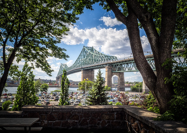 Jacques-Cartier bridge, Montreal (Canada)