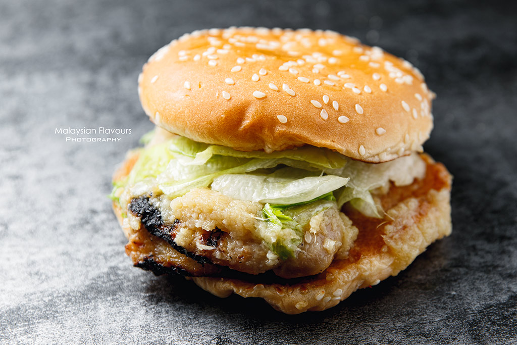 Burger King Hainanese Chicken Burger