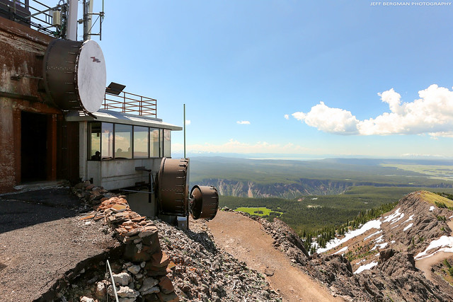 Mount Washburn Lookout Tower