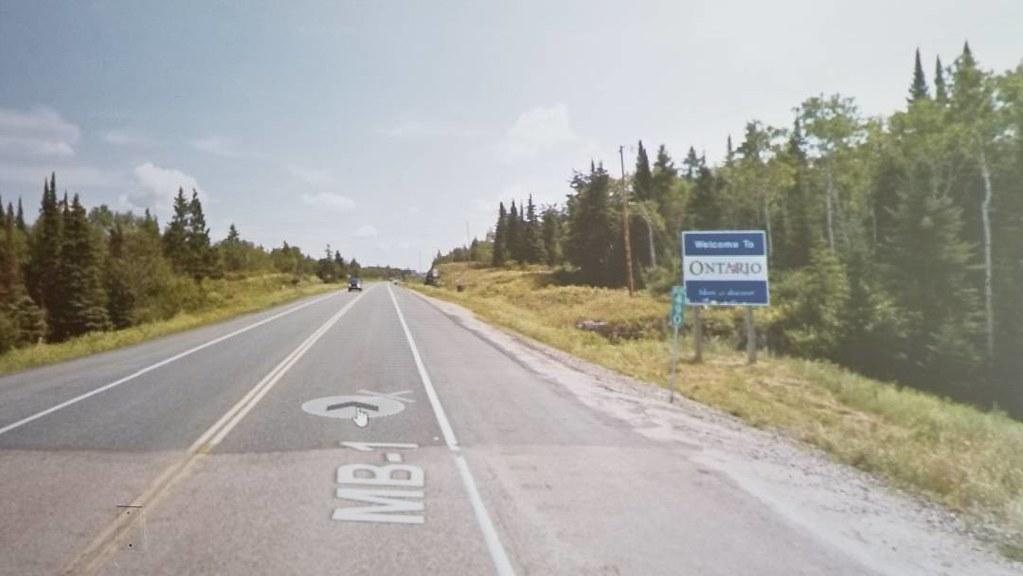 Welcome to Ontario!! #yourstodiscover #bordercrossing #ridingthroughwalls #xcanadabike #googlestreetview #ontario