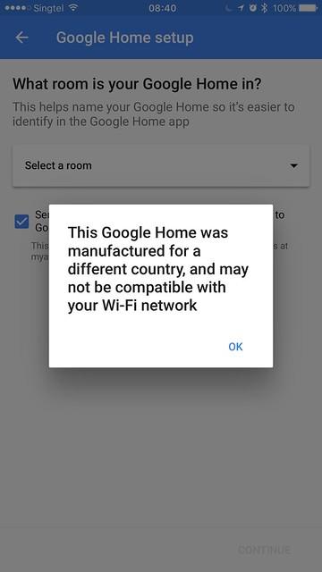 Google Home iOS App - Setup #6