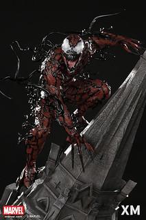 嗜血成性的可怕反派!!XM Studios Premium Collectibles【屠殺/血蜘蛛】Carnage 1/4 比例 全身雕像作品