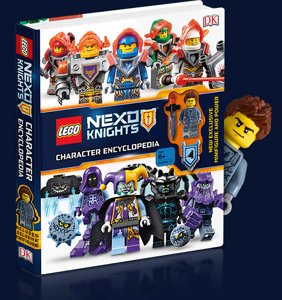 Lego Nexo Knights Character Encyclopedia + Clay