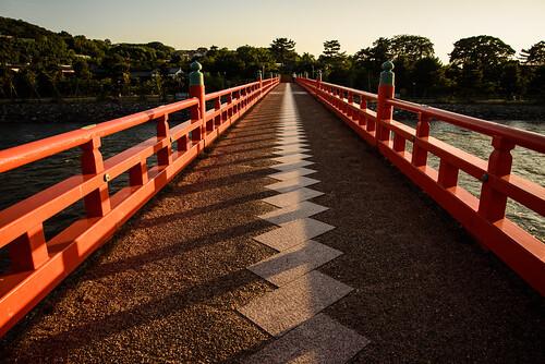 宇治市 京都府 japan kyoto 宇治川 川 river 夕景 sunset 橋 bridge
