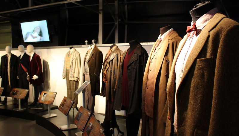Costumes at the Doctor Who Experience, Cardiff Bay