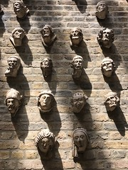 Wall of Stone Faces, Victoria and Albert Museum