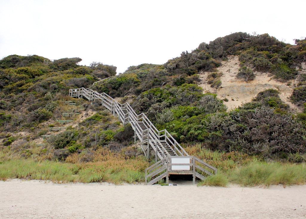 albany-salmon-holes-beach-staircase