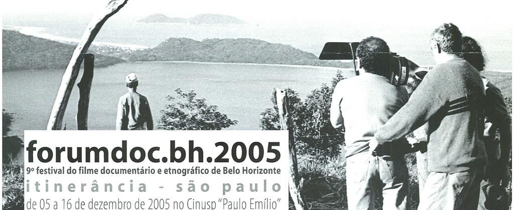 9º Festival do Fime Documentário Etnográfico de Belo Horizonte - forumdoc.bh.2005