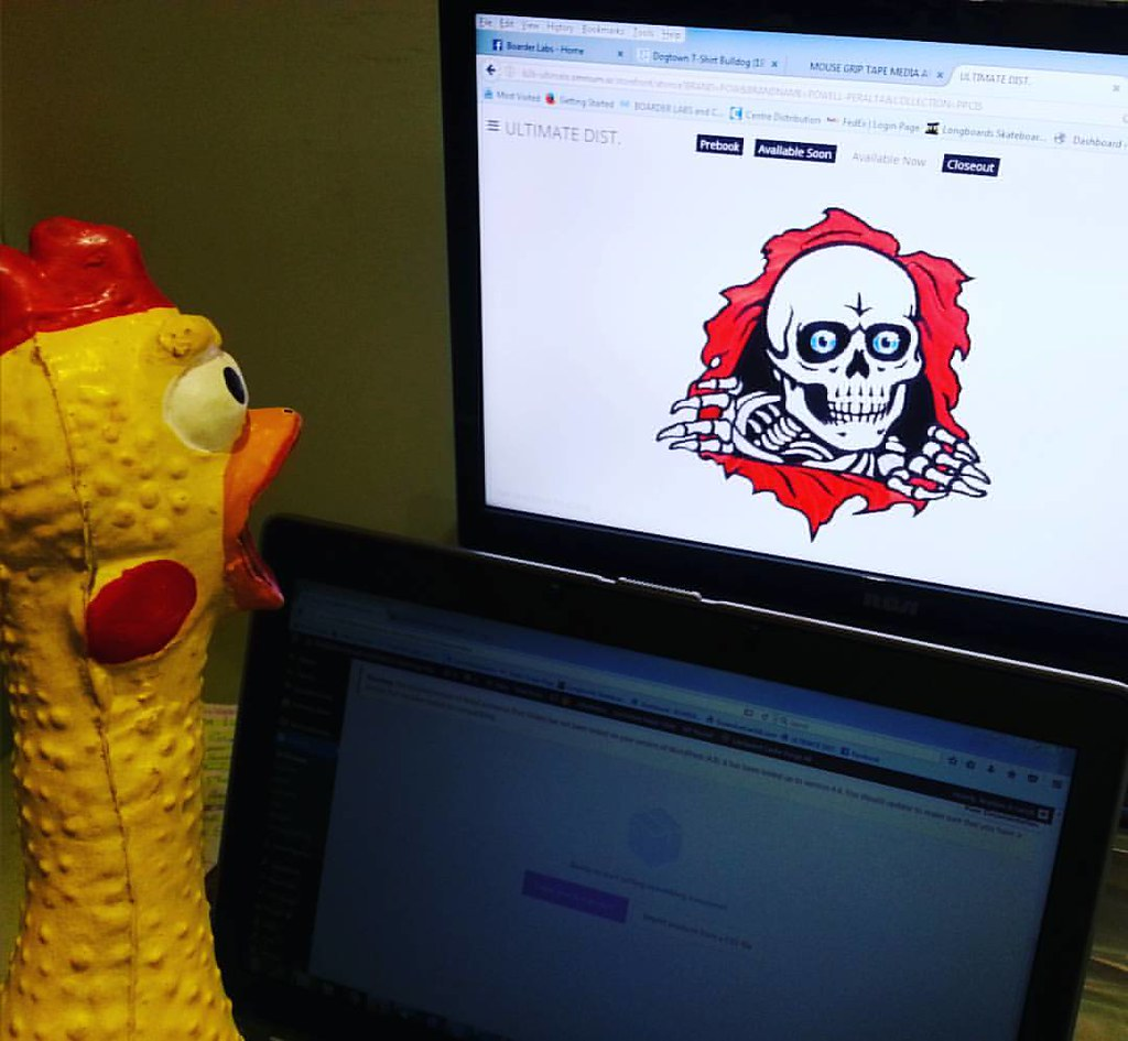 Chicken Bones! #boneswheels #rubberchickenleague #labrats