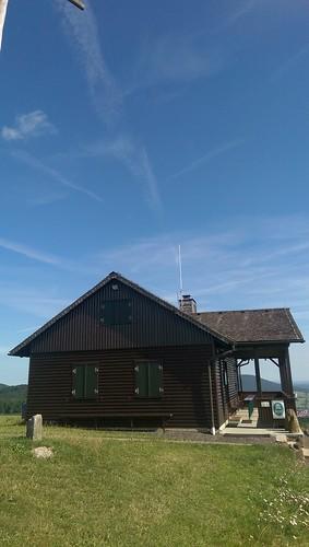Dermbacher Hütte auf dem Gläserberg